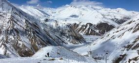 Gruzie – lyžování na Kavkaze pod Kazbekem