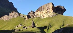 Turistika v Jižní Africe – Dračí hory