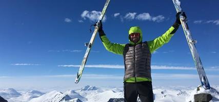 Švédsko – skialpinismus v Laponsku
