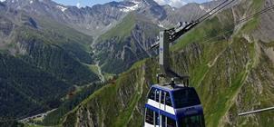 Alpské průsmyky a legendární Matterhorn
