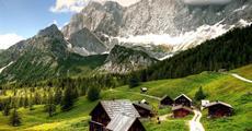 Ledovec Dachstein - pohodová letní turistika