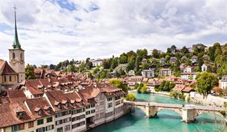 Nejkrásnější města, hory a jezera centrálního Švýcarska
