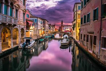 Romantické Benátky a zámek Miramare