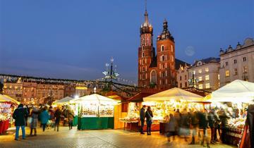 Advent v Krakově - městě králů a umění
