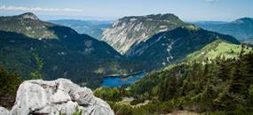 Ötscher - vodopády, soutěsky, vrcholy