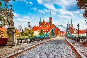 Vratislav a Krakov - Památky UNESCO