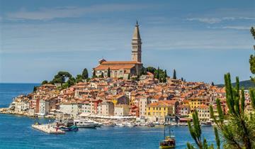 Slovinské pobřeží a perly Istrijského poloostrova