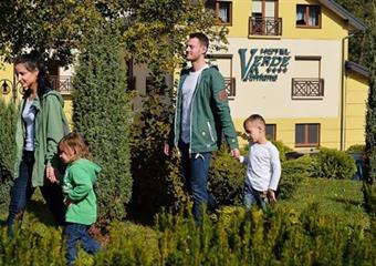Verde Montana SPA & Wellness:Rekreační pobyt nejen pro rodiny s dětmi 3 noci