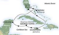 MSC Divina - Florida, Jamajka, Kajmanské o., Mexiko, Bahamy