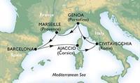 MSC Fantasia - Itálie, Španělsko, Korsica, Francie
