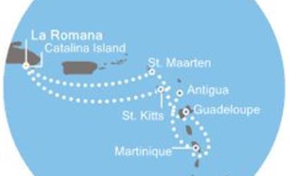 Costa Pacifica - Dominikán.rep., Antily
