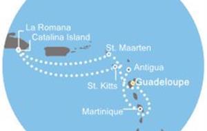 Costa Pacifica - Antily, Dominikán.rep.