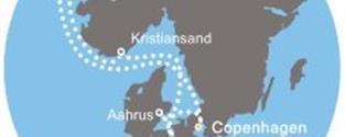 Costa Favolosa - Dánsko, Norsko, Německo