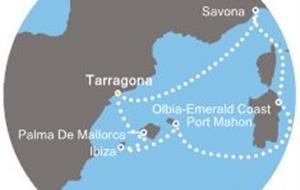 Costa Victoria - Španělsko, Itálie, Baleáry