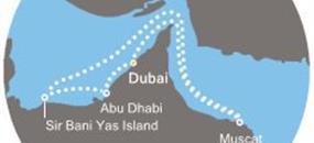 Costa Mediterranea - Arabské emiráty, Omán
