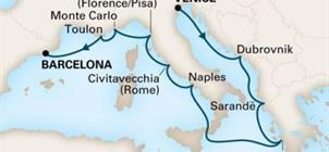 MS Oosterdam - Plavba z Benátek do Barcelony