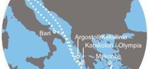 Costa Luminosa - Z Benátek do Řecka: Mykonos, Santorini, Kefalonie (bus z ČR)