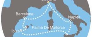 Costa Fascinosa - Itálie, Baleáry, Španělsko