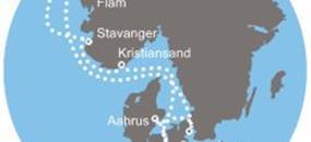 Costa Favolosa - Německo, Dánsko, Norsko (letecká doprava v ceně)