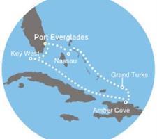 Costa Luminosa - Florida (USA), Bahamy, Turks a Caicos