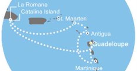Costa Favolosa - Antily, Dominikán.rep.