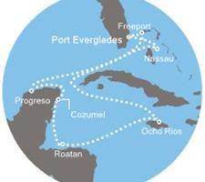 Costa Luminosa - Florida (USA), Bahamy, Jamajka, Honduras, Mexiko