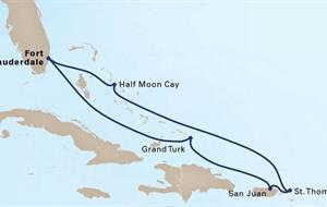 MS Oosterdam - Východní Karibik