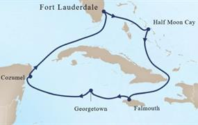 MS Oosterdam - Západní Karibik I