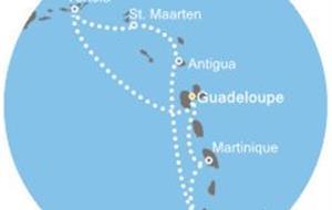 Costa Magica - Antily, Panenské ostrovy