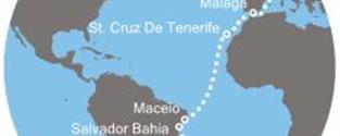 Costa Fascinosa - Argentina, Brazílie, Kanárské ostrovy, Španělsko, Francie, Itálie (Buenos Aires)