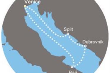 Costa Deliziosa - Itálie, Chorvatsko (z Benátek)