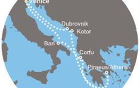 Costa Deliziosa - Itálie, Řecko, Černá Hora, Chorvatsko (z Benátek)