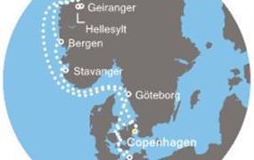 Costa Favolosa - Dánsko, Norsko, Německo (Kodaň)