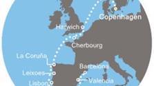 Costa Favolosa - Dánsko, Anglie, Francie, Španělsko, Portugalsko (Kodaň)