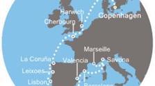 Costa Favolosa - Dánsko, Anglie, Francie, Španělsko, Portugalsko, Itálie (Kodaň)