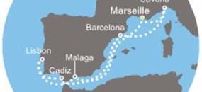 Costa Favolosa - Francie, Španělsko, Portugalsko, Itálie (Marseille)