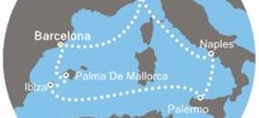 Costa Fascinosa - Španělsko, Itálie, Baleáry (z Barcelony)