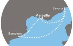 Costa Magica - Francie, Itálie, Španělsko (Marseille)