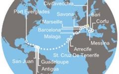 Costa Victoria - Itálie, Řecko, Jordánsko, Izrael, Omán, Maledivy, Srí Lanka, Indie (z Benátek)