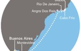 Costa Fascinosa - Argentina, Uruguay, Brazílie (Buenos Aires)