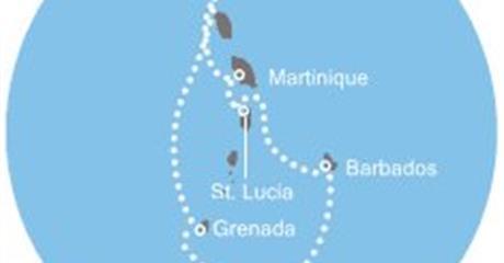 Costa Magica - Antily, Trinidad a Tobago