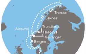 Costa Pacifica - Německo, Norsko (Kiel)