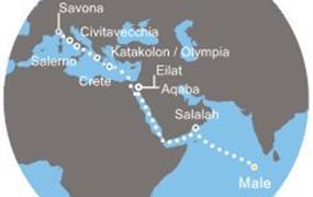 Costa neoRiviera - Maledivy, Omán, Izrael, Jordánsko, Řecko, Itálie (Malé)