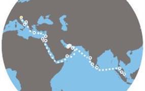 Costa Venezia - Itálie, Chorvatsko, Řecko, Jordánsko, Omán, Arabské emiráty, Indie, Srí Lanka, Malajsie, Singapur (Terst)