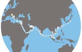 Costa Venezia - Itálie, Chorvatsko, Řecko, Jordánsko, Omán, Arabské emiráty, Indie, Srí Lanka, Malajsie, Singapur, Thajsko, Vietnam, Čína, Tchajwan, Japonsko (Terst)