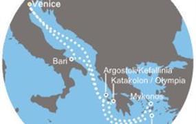 Costa Luminosa - Itálie, Řecko (z Benátek)