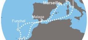 Costa Pacifica - Francie, Kanárské ostrovy, Madeira, Španělsko, Itálie (Marseille)
