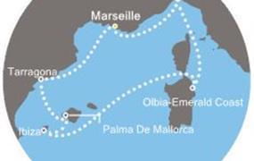 Costa Fortuna - Francie, Španělsko, Baleáry, Itálie (Marseille)