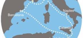 Costa Fascinosa - Francie, Itálie, Malta, Španělsko (Marseille)