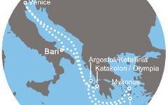 Costa Luminosa - Itálie, Řecko (Bari)